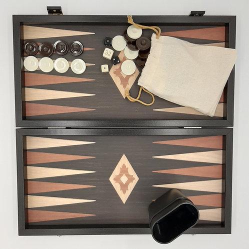 Backgammon noir