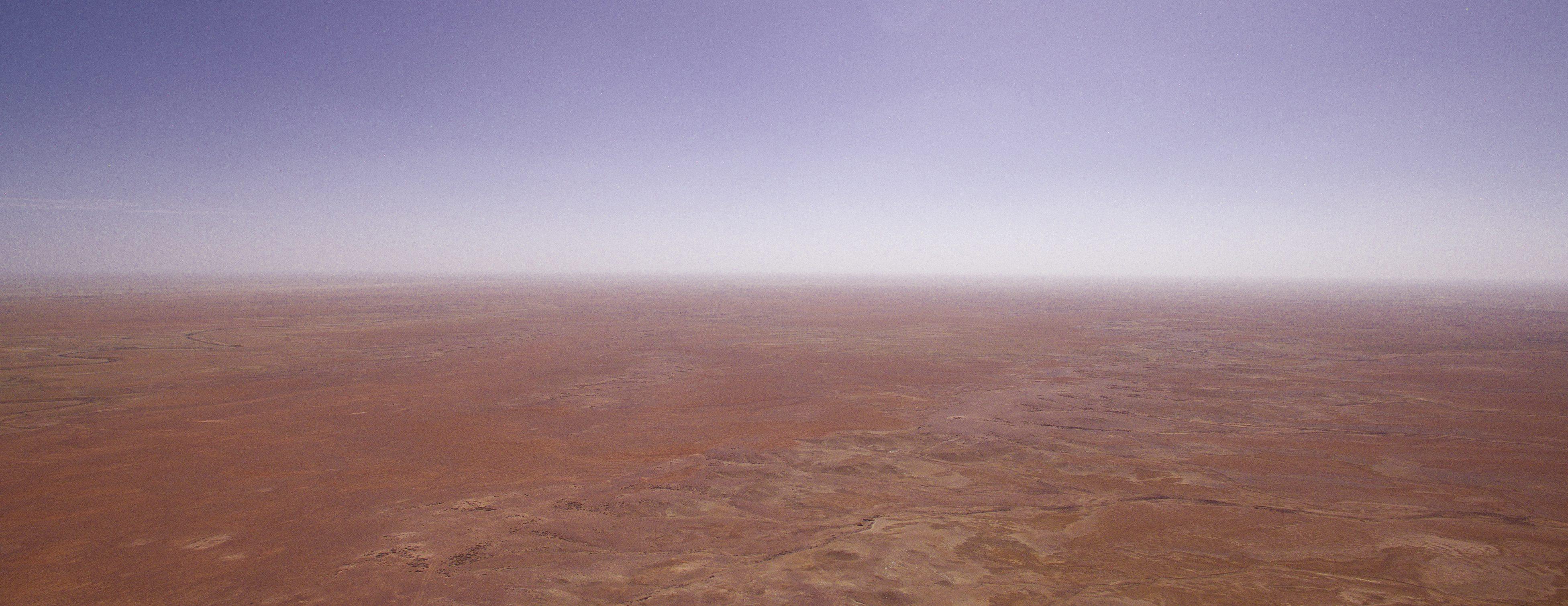 desert drone high site