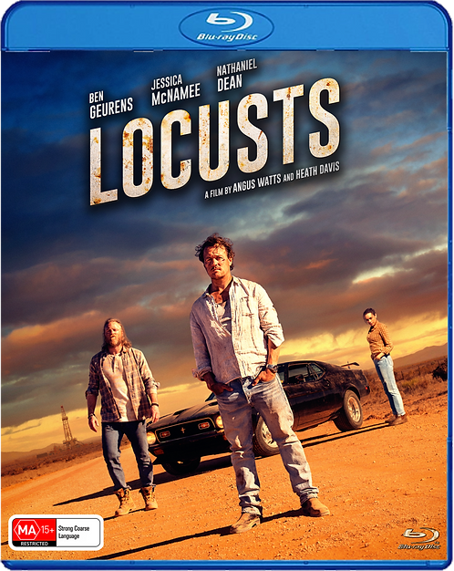 LOCUSTS BluRay - LIMITED EDITION - Free Shipping (Australia only)