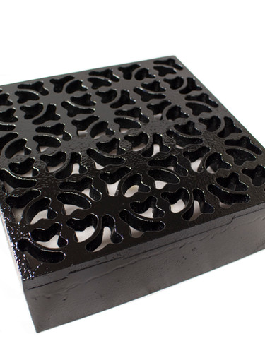 Bespoke cast air brick