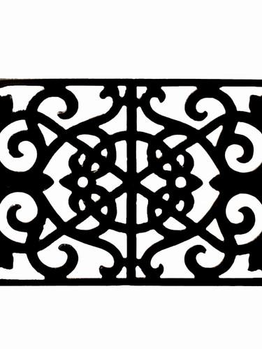 Cast iron air bric