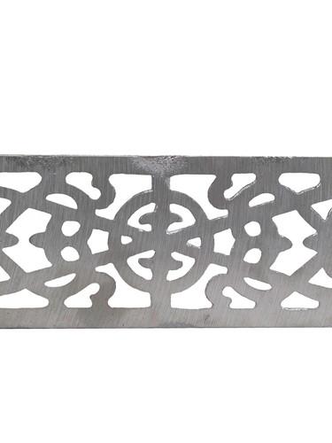 Cast aluminium air brick
