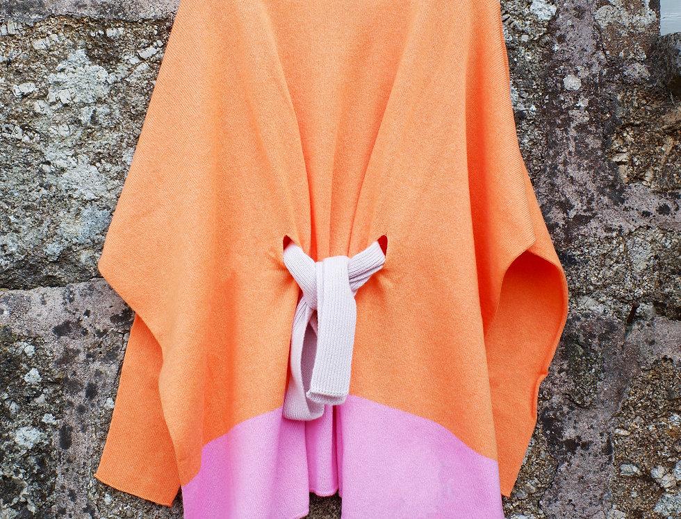 Orange Jumper with Belt