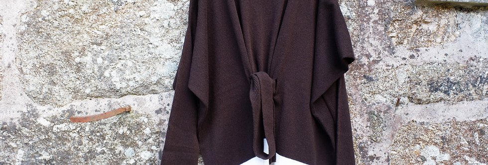 Chocolate Jumper with Belt