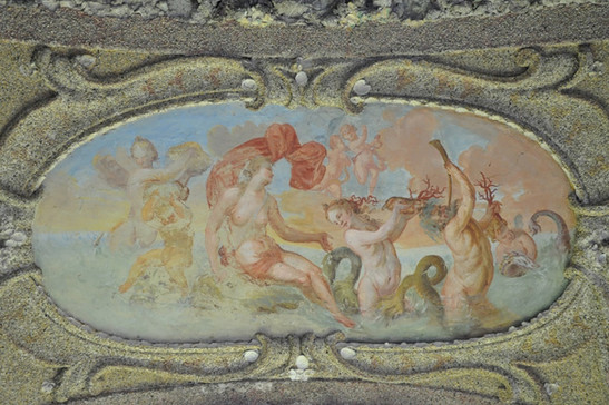 Venus mit Gefolge