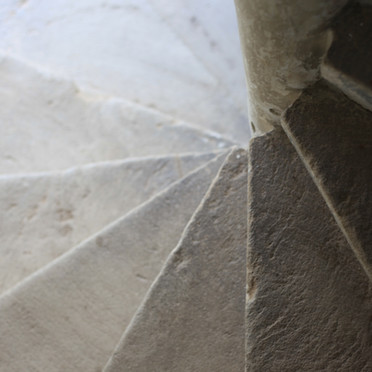 Detail Wendeltreppe
