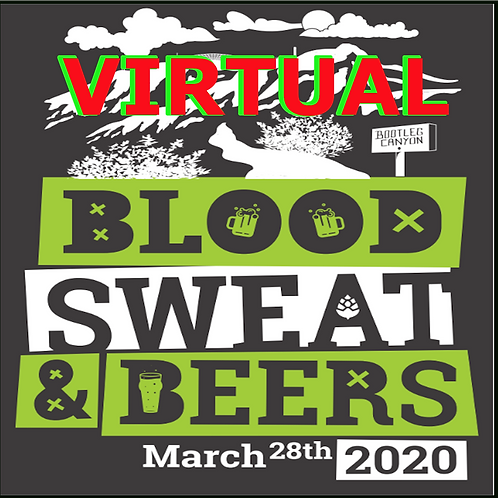 Virtual Blood, Sweat, & Beers Race Entry