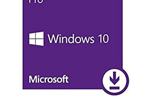 Windows 10 professionnel 32/64 bits - 1 poste - CLE D'ACTIVATION UNIQUEMENT - Pr