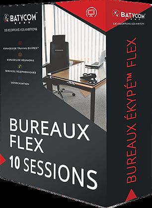 Ekypé ™ Flex Deskto | Paquete de 10 sesión