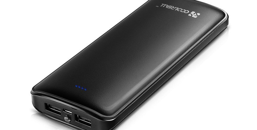 Batterie Externe 15 600 mAh 2 Ports USB Coolreall®