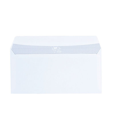 Envelope 110 x 220 mm Clairalfa Clairefontaine 90 g without window - Box of 250