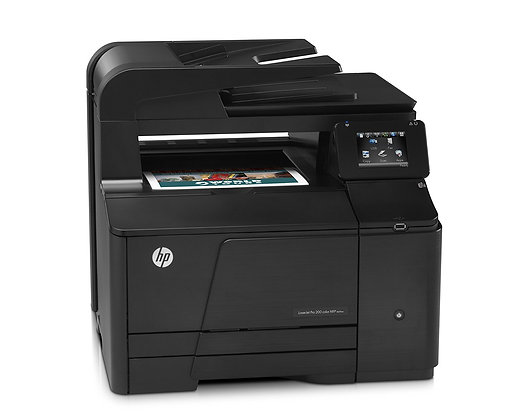 Impresora láser a color HP Laserjet Pro 200 MFP M276n 14 ppm Negro