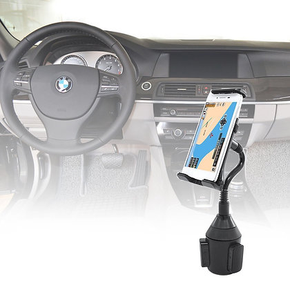 Xcellent Global Universal mobile phone & GPS holder for the cup holder