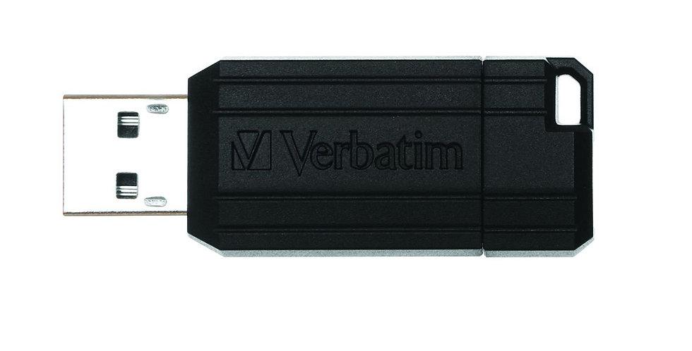 Verbatim Pinstripe Clé USB Drive 2.0 8 Go Noir