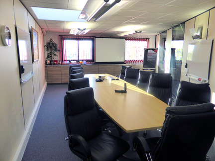 Meeting rooms at your disposal included in your pack