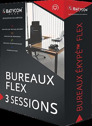 Ekypé ™ Flex office│ 3 session pack
