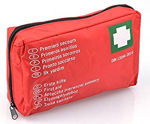 Empty flexible first aid kit for vehicle - Unit (s)