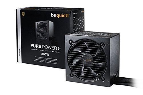 ¡Cállate! Pure Power 9 PC fuente de alimentación 300 W Negro