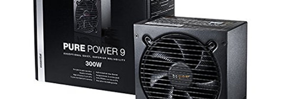 be quiet! Pure Power 9 Alimentation PC 300 W Noir