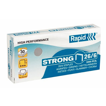 Rapid Strong Staples 26/6 x5000