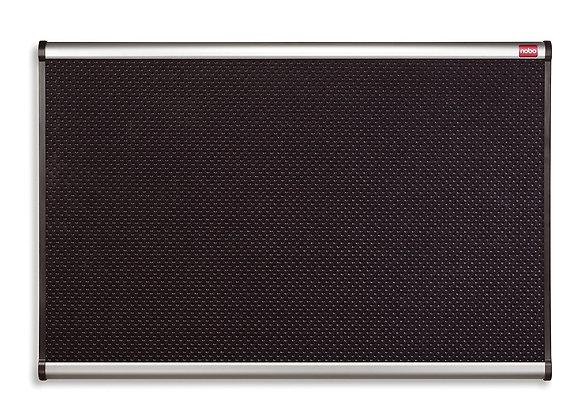 Nobo 538766 Prestige Foam Board with Aluminum Frame (900x600 mm) Black