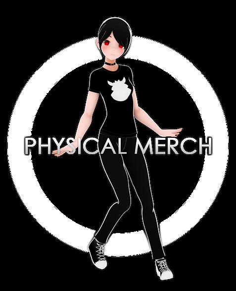 Physical Merchandise via RedBubble