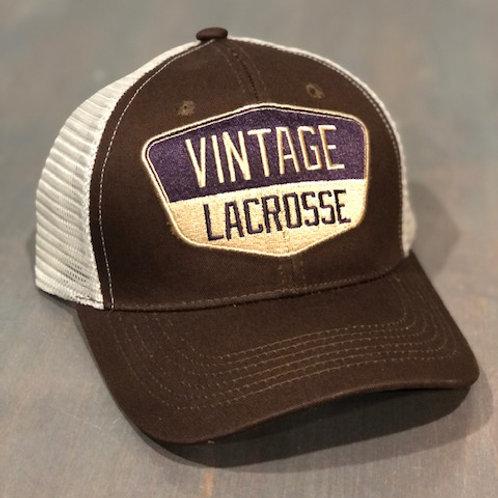 Vintage Lacrosse Trucker - Brown