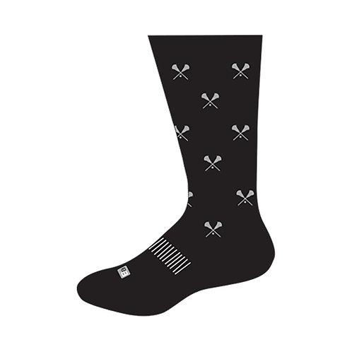 Dress Socks - Lax Sticks