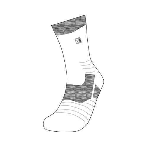 Adult Socks - Classic White