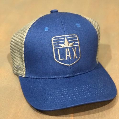 LAX Trucker Hat Blue