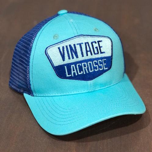 Vintage Lacrosse Trucker - Blue