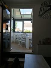 cuisine et salle de réception