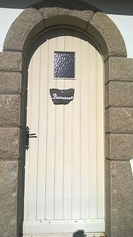 Porte d'entrée typique So Breizh Villa