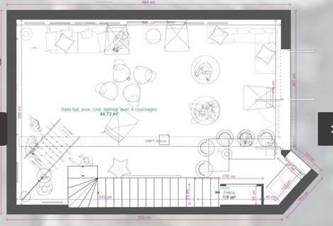 Le loft Espace _Mega Dreams_ en rez-de-jardin, 45m²