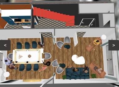 Projection salle à manger_salon
