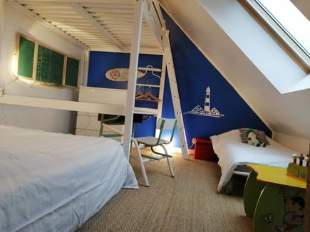 dortoir 5 couchages possibles