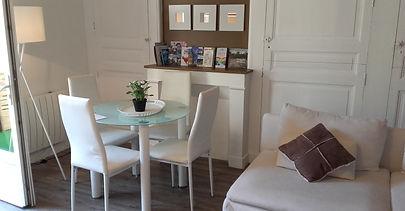 Séjour coin repas So Cute Appartement