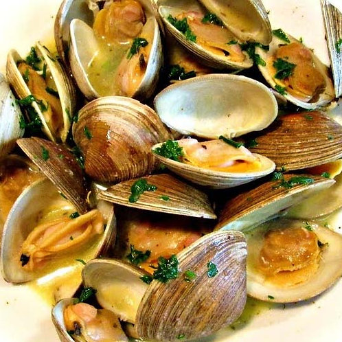 MUSSELS or TOP NECK CLAMS