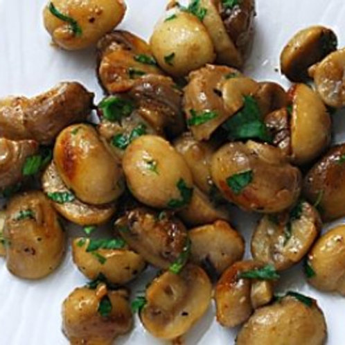SAUTÉED WHOLE BUTTON MUSHROOMS