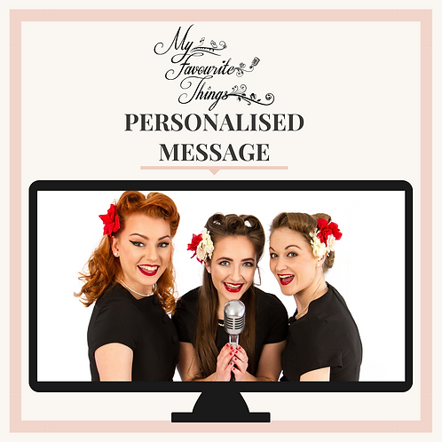 Recorded Personalised Message