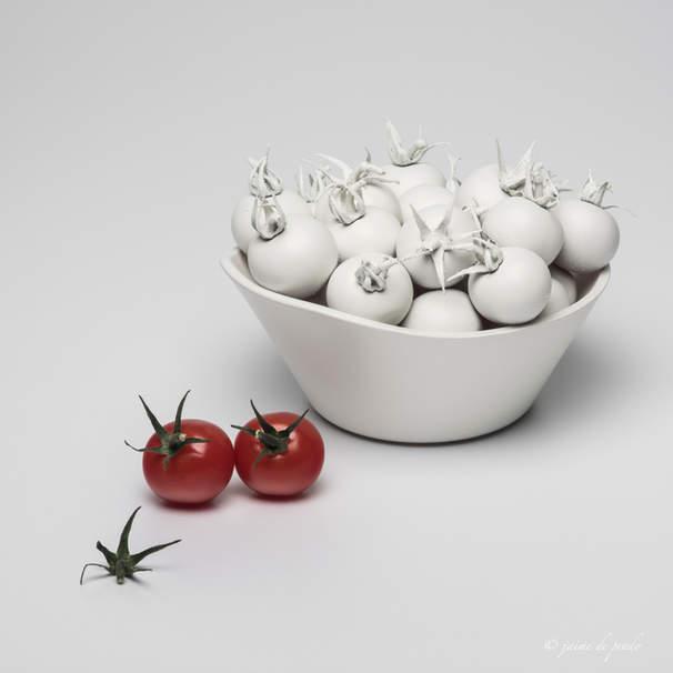 Tomates blancos