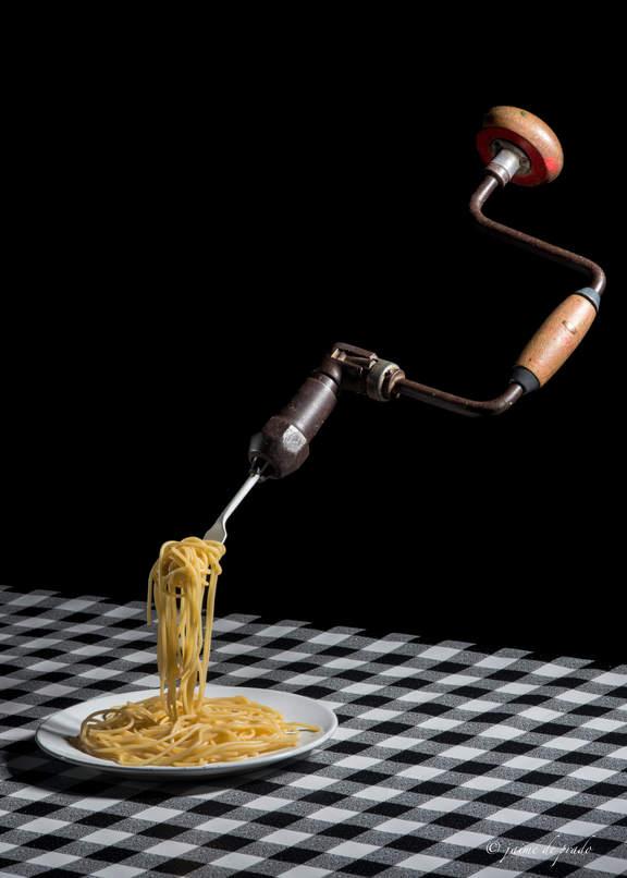 Espaguetis a la taladrini