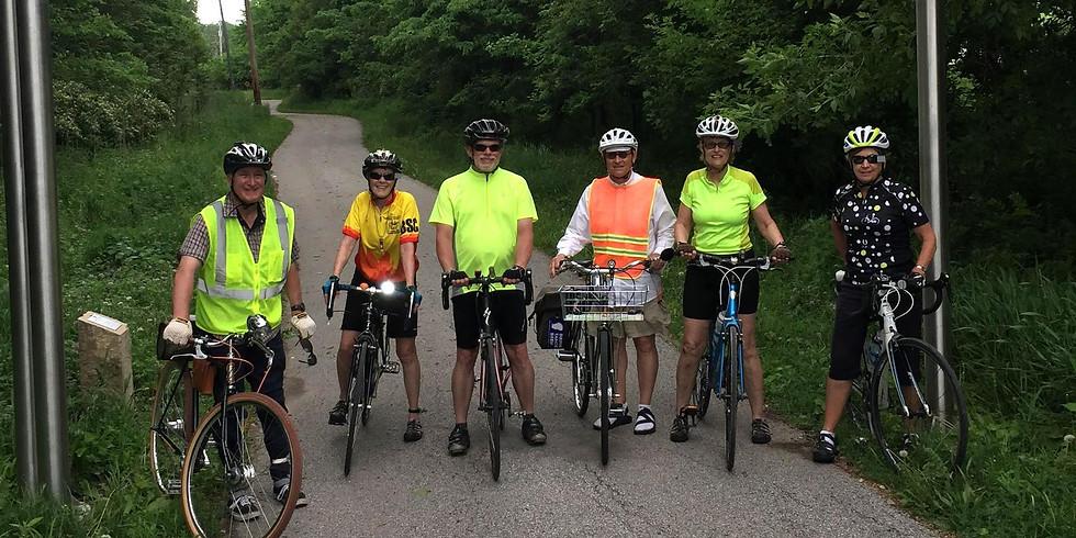 The Older Urban Riders (TOUR) Ride - Cool Basil Loop