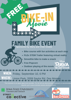 Bike-In Event Flyer