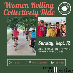 Women Rolling Collectively Ride (1)
