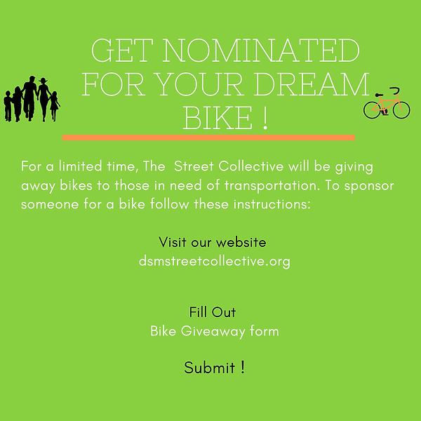Bike Giveaway Program