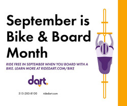 Sept is bike and board month