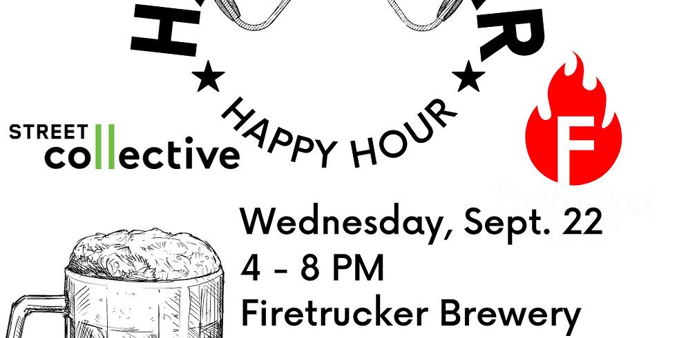 Handlebar Happy Hour - Firetrucker Brewery