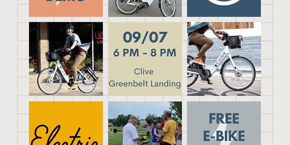 BCycle E-Bike Demo: Clive Greenbelt Landing