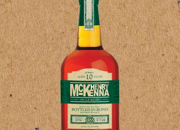 Henry McKenna Single Barrel 10 year / Straight Bourbon (DC ONLY)
